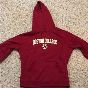 Under Armour SM Boston College hooded sweatshirt